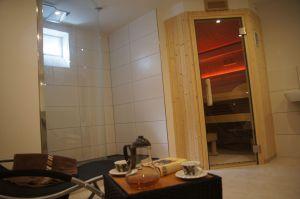 Infrarot-Sauna, Dampfbad und klassische Sauna