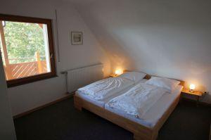 Schlafzimmer mit herrlichem Blick