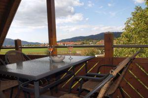 Der Balkon im Dachspitz